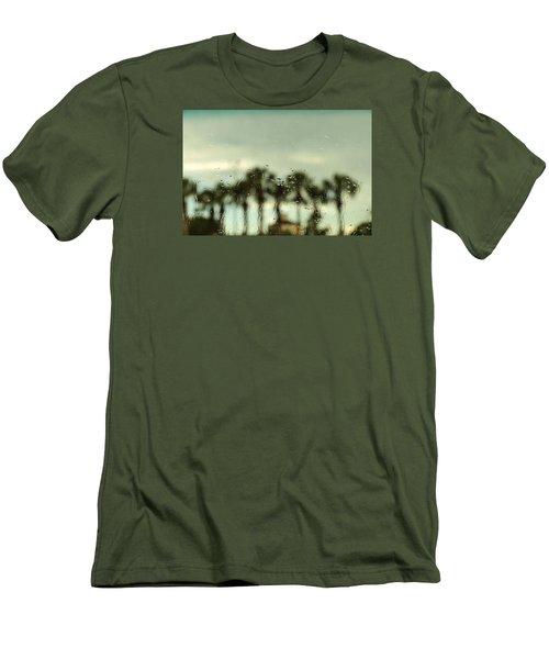 Rainy Daze Men's T-Shirt (Slim Fit) by Christopher L Thomley