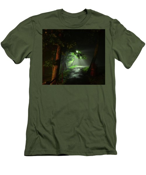 Rainy Night Men's T-Shirt (Athletic Fit)