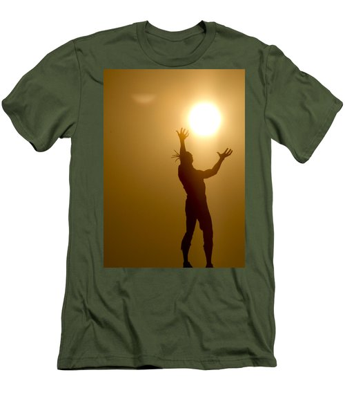 Raising The Sun Men's T-Shirt (Athletic Fit)