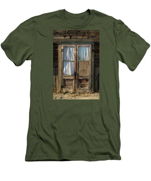 Randsburg Door No. 1 Men's T-Shirt (Athletic Fit)