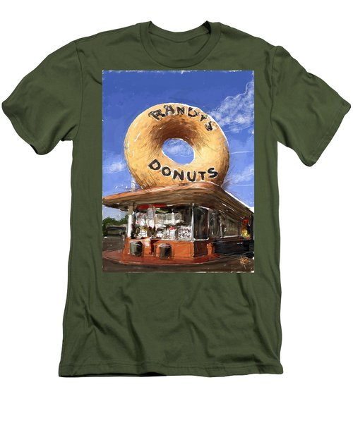 Randy's Donuts Men's T-Shirt (Athletic Fit)