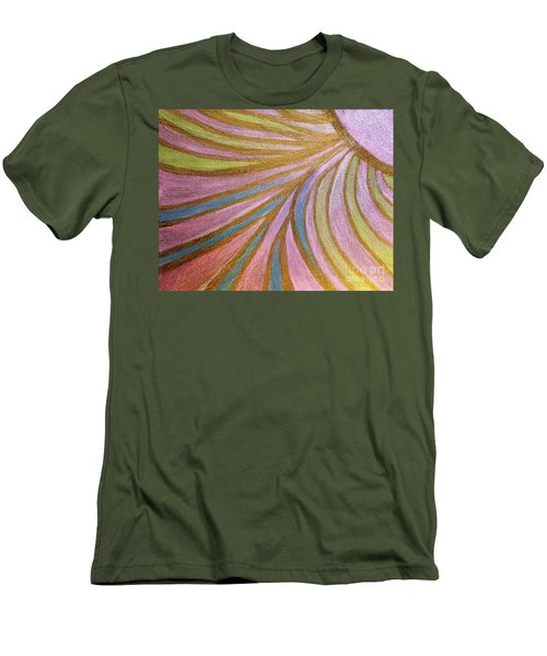 Rays Of Hope Men's T-Shirt (Slim Fit) by Rachel Hannah