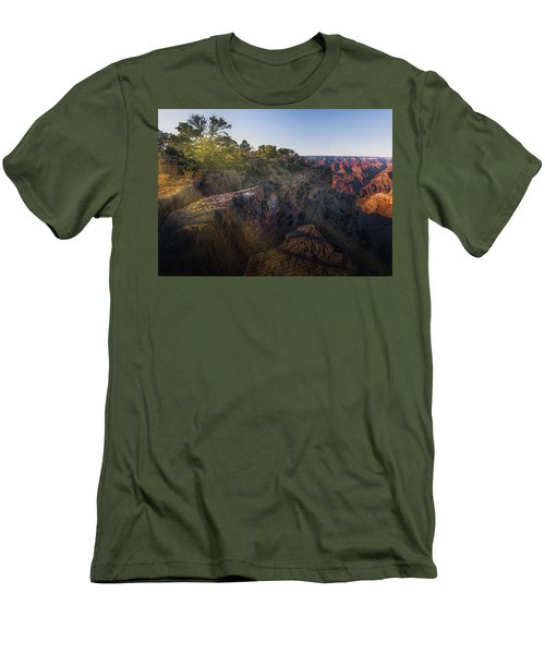 Rays Over The Canyon  Men's T-Shirt (Athletic Fit)