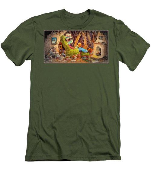 Reading Is Magic Pg 1 Men's T-Shirt (Slim Fit) by Matt Konar