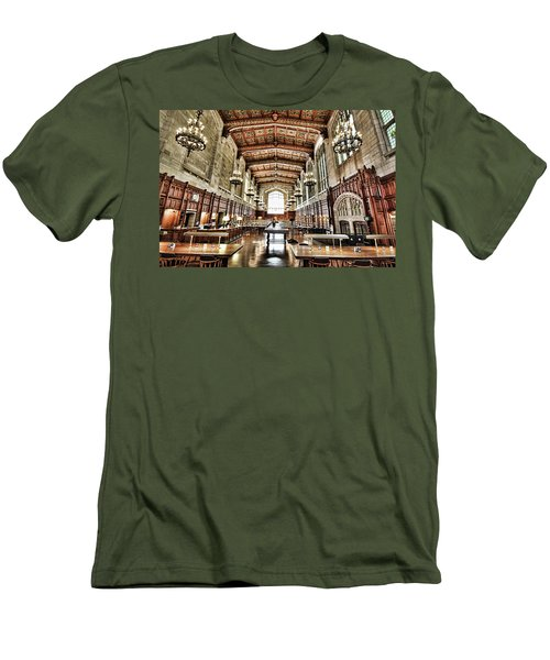 Reading Room Men's T-Shirt (Athletic Fit)