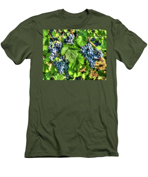 Men's T-Shirt (Slim Fit) featuring the photograph Ready For Harvest by Alan Toepfer