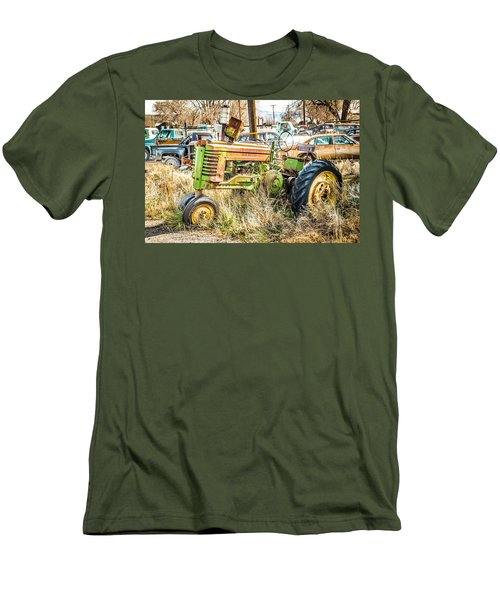 Men's T-Shirt (Slim Fit) featuring the photograph Ready To Work by Jan Davies