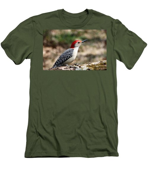 Red-bellied Woodpecker Men's T-Shirt (Athletic Fit)