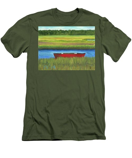 Red Boat - Assateague Channel Men's T-Shirt (Athletic Fit)