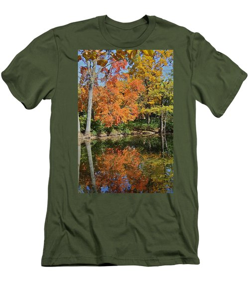Red Cedar Banks Men's T-Shirt (Athletic Fit)