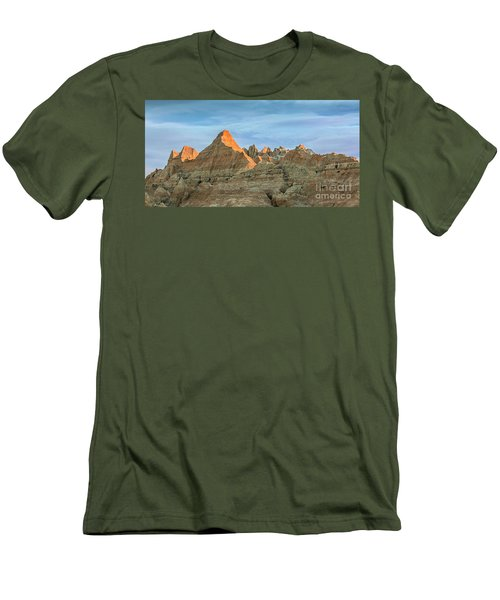 Red Faced Panorama Men's T-Shirt (Athletic Fit)
