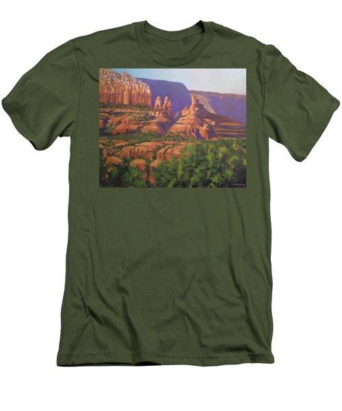 Red Rocks Sedona Men's T-Shirt (Athletic Fit)