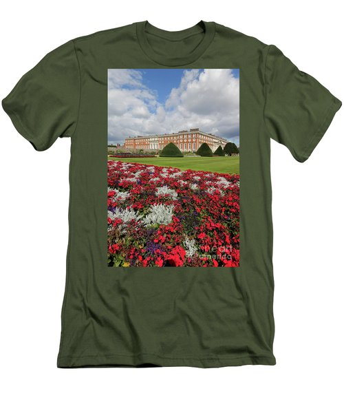 Red White And Blue At Hampton Court Men's T-Shirt (Athletic Fit)