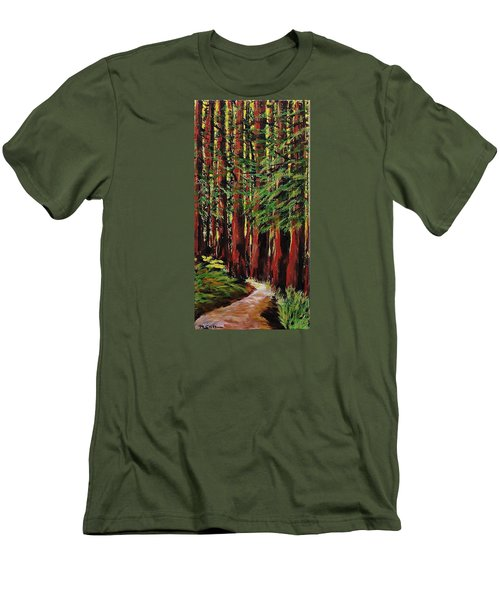 Redwoods Majestic 1 Men's T-Shirt (Athletic Fit)