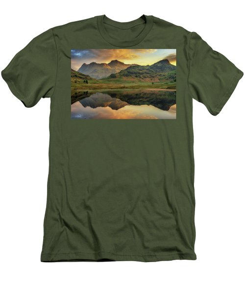 Reflected Peaks Men's T-Shirt (Athletic Fit)