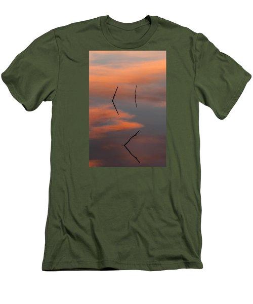 Reflected Sunrise Men's T-Shirt (Athletic Fit)