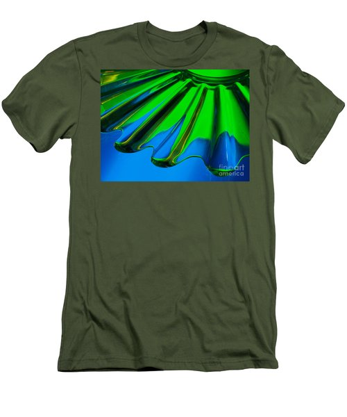 Men's T-Shirt (Slim Fit) featuring the photograph Reflected by Trena Mara