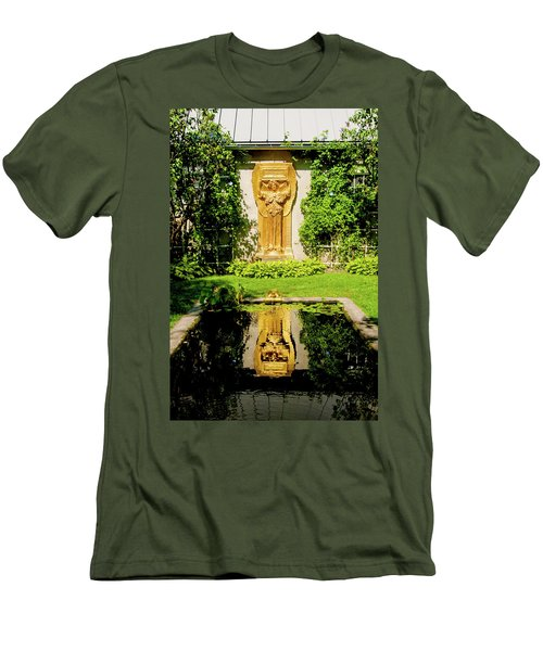 Reflecting Art Men's T-Shirt (Slim Fit) by Greg Fortier