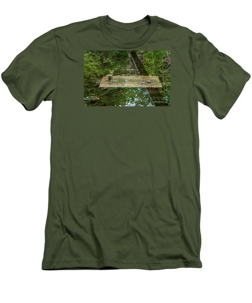 Reflection Of The Past Men's T-Shirt (Athletic Fit)