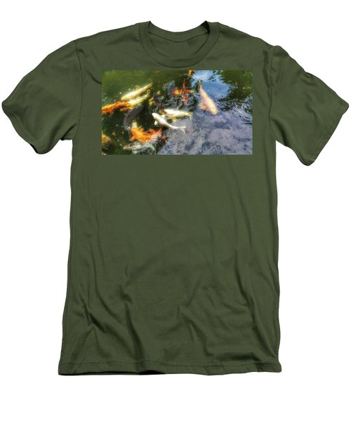 Reflections And Fish 6 Men's T-Shirt (Slim Fit)
