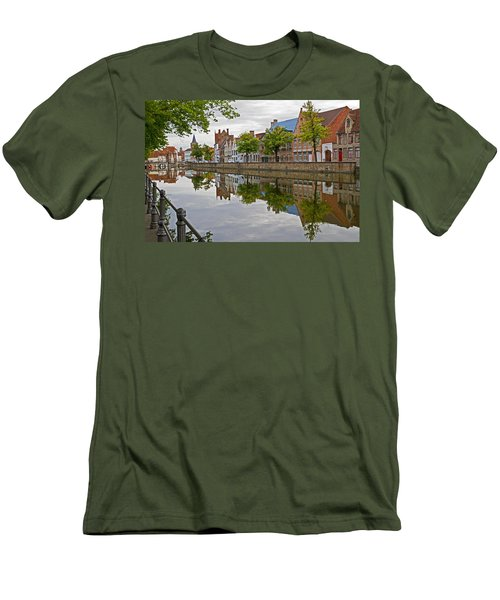 Reflections Of Brugge Men's T-Shirt (Athletic Fit)