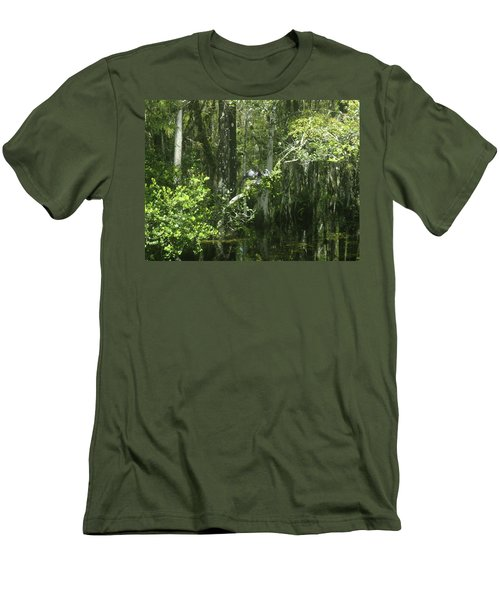 Reflections Upon The Swamp Men's T-Shirt (Athletic Fit)
