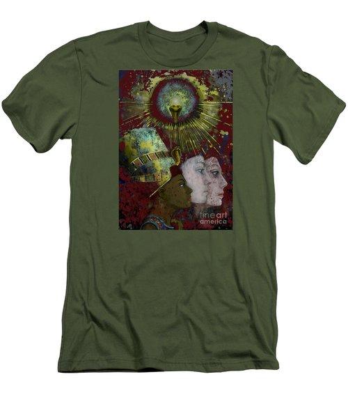 Reincarnate Men's T-Shirt (Slim Fit) by Carol Jacobs