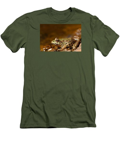 Men's T-Shirt (Slim Fit) featuring the photograph Relaxed by Richard Patmore
