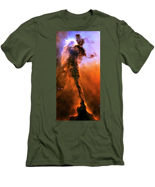 Release - Eagle Nebula 1 Men's T-Shirt (Athletic Fit)