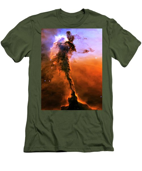 Release - Eagle Nebula 2 Men's T-Shirt (Athletic Fit)