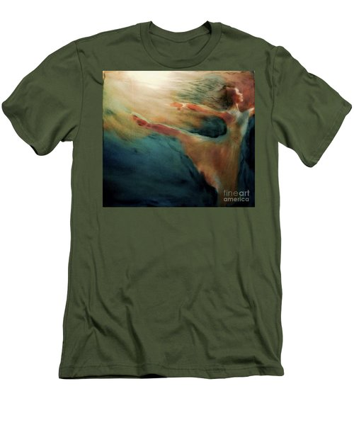 Releasing Of The Soul Men's T-Shirt (Slim Fit) by FeatherStone Studio Julie A Miller