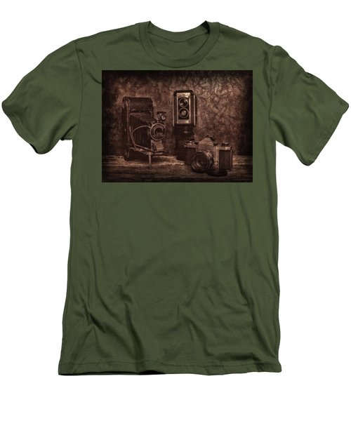 Men's T-Shirt (Slim Fit) featuring the photograph Relics by Mark Fuller