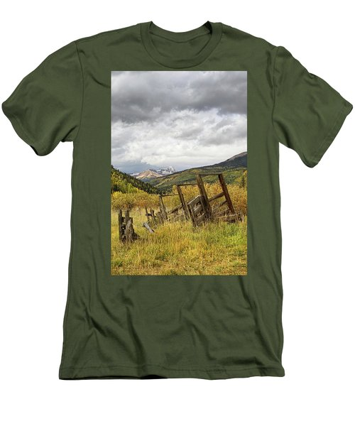 Remains Of A Corral Men's T-Shirt (Athletic Fit)