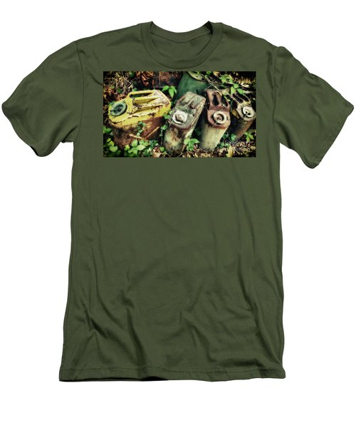 Remains Of The Day - Camp Mountain Lake Men's T-Shirt (Athletic Fit)
