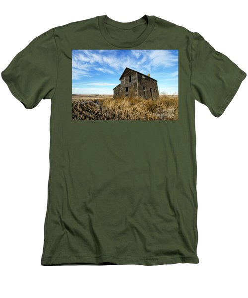 Men's T-Shirt (Slim Fit) featuring the photograph Remember The Past Work For The Future 2 by Bob Christopher
