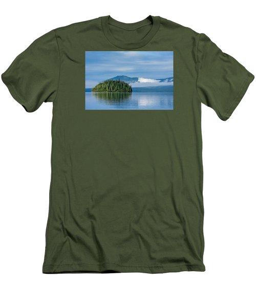 Remote Beauty Men's T-Shirt (Slim Fit) by Don Mennig