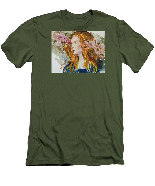 Renaissance Woman Men's T-Shirt (Slim Fit) by P Maure Bausch