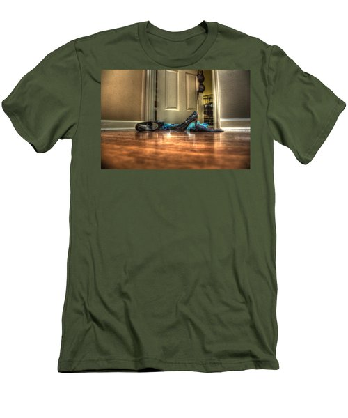 Men's T-Shirt (Slim Fit) featuring the photograph Rendezvous Do Not Disturb 05 by Andy Lawless