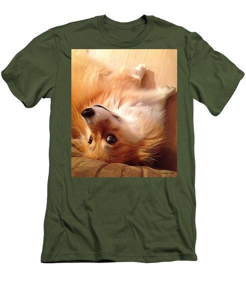 Resistance Is Futile Men's T-Shirt (Slim Fit) by Kathy Kelly