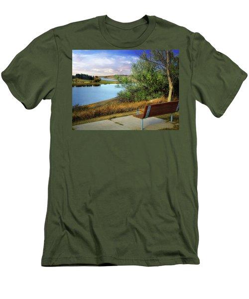 Rest Stop 2 Men's T-Shirt (Athletic Fit)