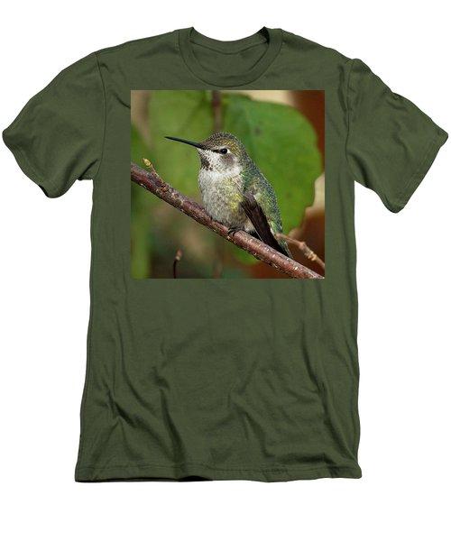 Resting Men's T-Shirt (Slim Fit) by Sheldon Bilsker