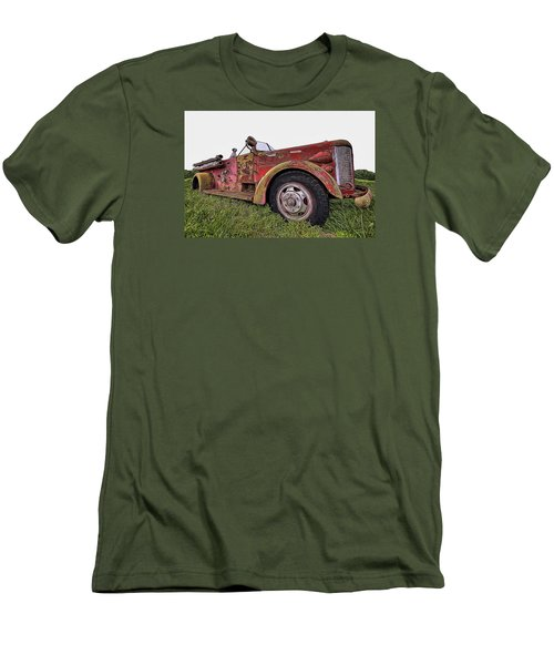 Retired Hero Men's T-Shirt (Athletic Fit)
