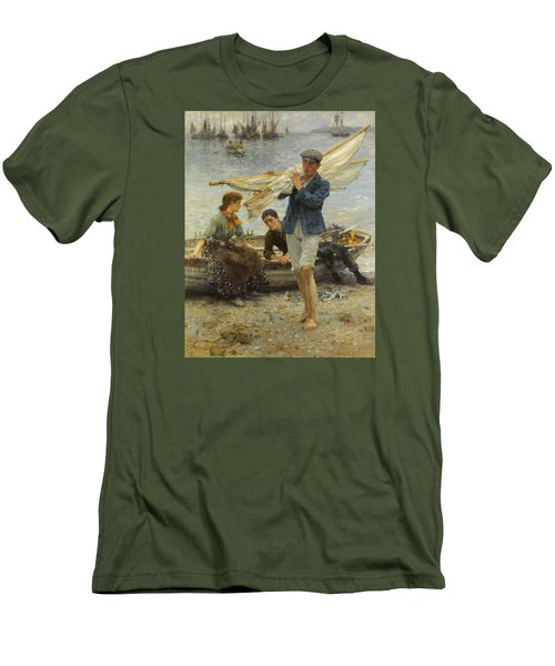 Return From Fishing Men's T-Shirt (Athletic Fit)