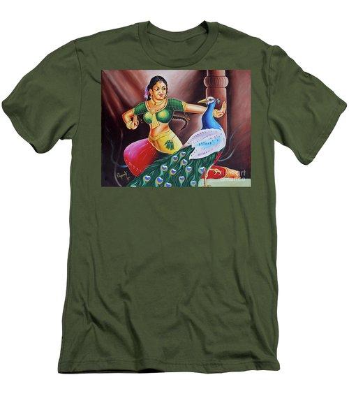 Rhythms Of Tradition Men's T-Shirt (Slim Fit) by Ragunath Venkatraman