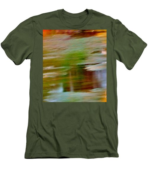 Rice Lake Men's T-Shirt (Slim Fit) by Patricia Schneider Mitchell