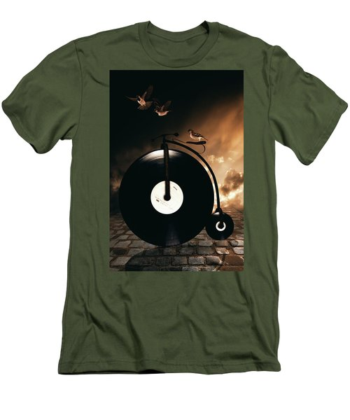 Ride Lesson Men's T-Shirt (Athletic Fit)