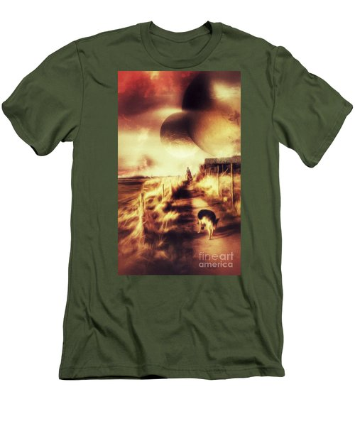 Riding Offworld Men's T-Shirt (Athletic Fit)