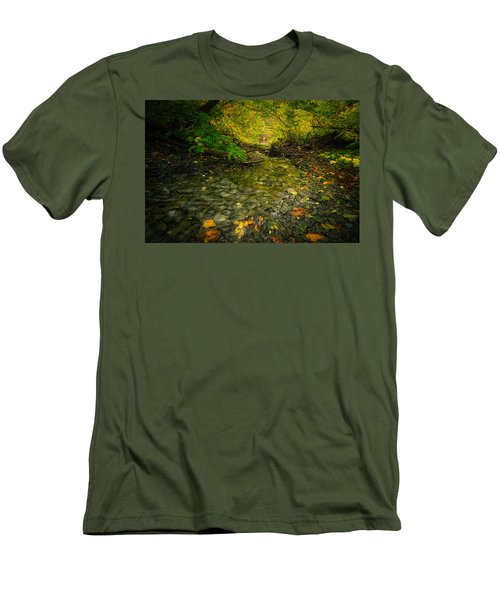 Riding Stream Men's T-Shirt (Athletic Fit)