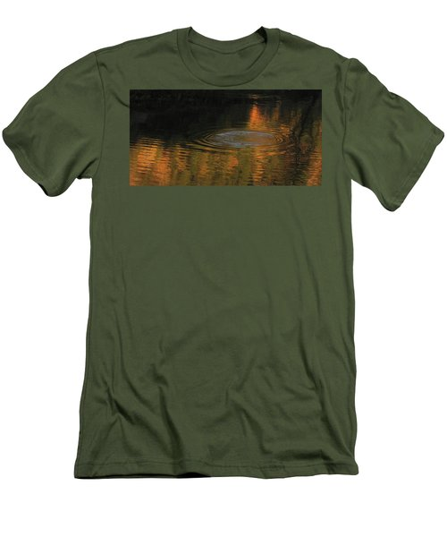 Rings And Reflections Men's T-Shirt (Slim Fit) by Suzy Piatt