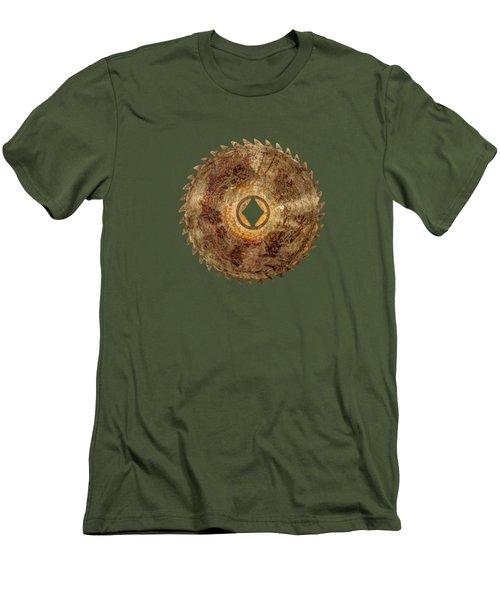 Rip Tooth Sawblade Men's T-Shirt (Slim Fit) by YoPedro